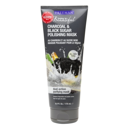 Facial Polishing MaskCharcoal & Black Sugar
