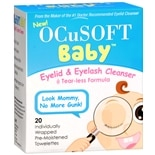 wag-Baby Eyelid & Eyelash Cleanser Individually Wrapped Pre-Moistened Towelettes