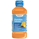 Walgreens Pediatric Oral Electrolyte Solution with Zinc Fruit