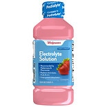 Walgreens Pediatric Oral Electrolyte Solution with Zinc Strawberry