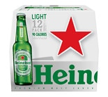 Heineken Premium Light Beer 12 oz Bottles