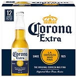 Corona Extra Beer 12 oz Bottles 12 Pack