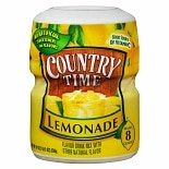 Country Time Drink Mix Powder Lemonade Lemonade