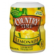 Country Time Drink Mix Powder Lemonade