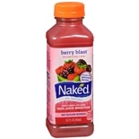 Naked 100% Juice Smoothie 15.2 oz Bottle Berry
