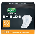 Depend For Men Shields Light Absorbency