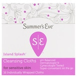 Summer's Eve Cleansing Cloth for Sensitive Skin Island Splash