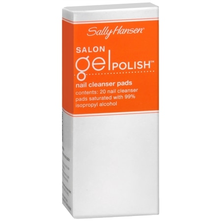 Sally Hansen Salon Gel Polish  Nail Cleanser Pads Gel Cleanser