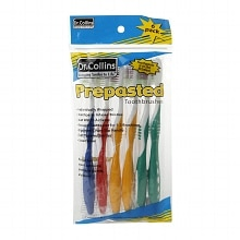 Dr. Collins Prepasted Toothbrushes