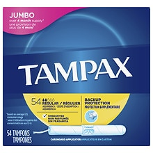Tampax Tampons with Cardboard Applicators Regular
