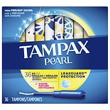 Tampax Pearl Tampons with Plastic Applicators, Scented