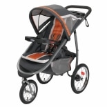 Graco Fast Action Jogger Orange & Grey Tangerine