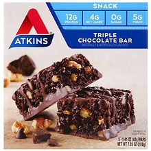 Atkins Advantage Snack Bars Triple Chocolate
