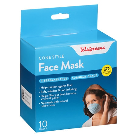 Walgreens Face Mask, Cone Style