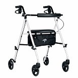 Medline Ultra-Lightweight Freedom Rollator white