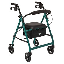 Medline Basic Rollator Green