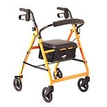 Medline Basic Rollator orange