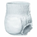 Medline Protect Plus Protective Underwear X-Large, Moderate-Heavy White