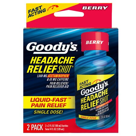 Goody's Headache Relief Shot Berry