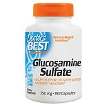 Doctor's Best Best Glucosamine Sulfate 750mg, Capsules