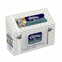 Kleenex Hand Towels White