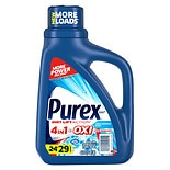 Purex Liquid Laundry Detergent plus Oxi and Zout Stain Removers Fresh Morning Burst