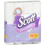 Scott Extra Soft Bathroom Tissue 16 Rolls 16s Rolls