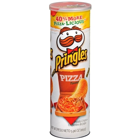 Pringles Potato Crisps Pizza