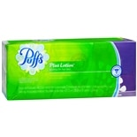 Puffs Plus Lotion 2-Ply Facial Tissue 8.4 inch x 8.2 inch