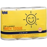 Big Roll Bath Tissue 6 Rolls 6 Rolls