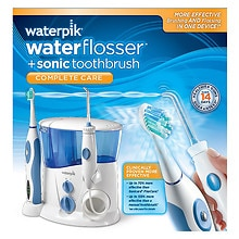 WaterPik WaterFlosser + Sonic Toothbrush, Complete Care, WP-900