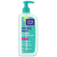 Clean & Clear Morning Burst Hydrating Facial Cleanser, Oil-Free