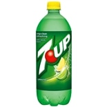 7-Up Soda 1 Liter Bottle Lemon-Lime