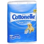 Cottonelle Cottonelle Clean Care Toilet Paper 12 RollsClean Care