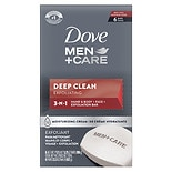 Dove Men+Care Body + Face Bars Deep Clean