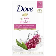 Dove Go Fresh, Bath Bar Soap, Revive