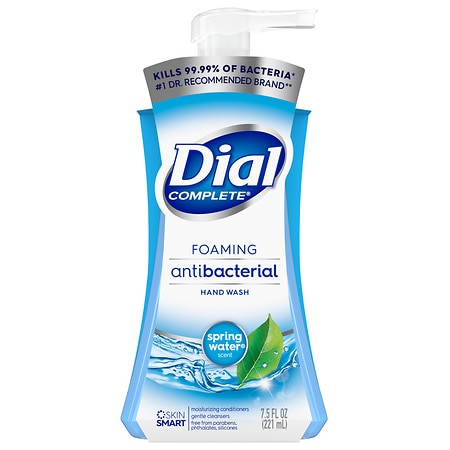Dial Complete Foaming Antibacterial Hand Wash Spring Water