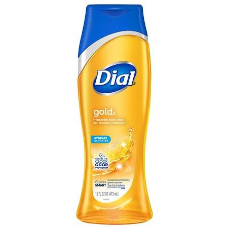 Dial Body Wash, Removes Bacteria Gold