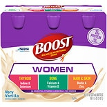 Boost Calorie Smart Balanced Nutritional Drinks 6 Pack 8 oz Bottles Vanilla