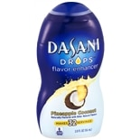 Dasani Drops Flavor Enhancer Liquid Pineapple Coconut