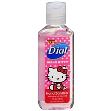 Dial Hand Sanitizer Gel Hello Kitty
