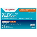 wag-Wal-Som Nighttime Sleep Aid Tablets