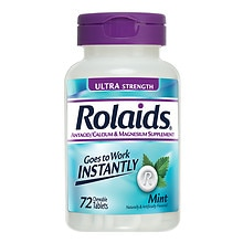 Rolaids Ultra Strength Tablets Mint