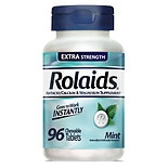 Rolaids Extra Strength Tablets Mint