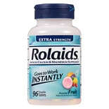 Rolaids Extra Strength Tablets Fruit