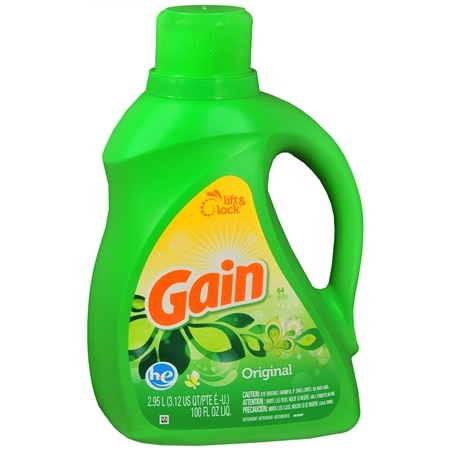 Gain Laundry Detergent Liquid, Original Fresh