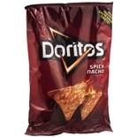 Doritos Flavored Tortilla Chips Spicy Nacho