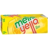 Mello Yello Soda 12 Pack 12 oz Cans Citrus