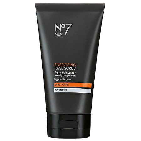 Boots No7 Men Energising Face Scrub