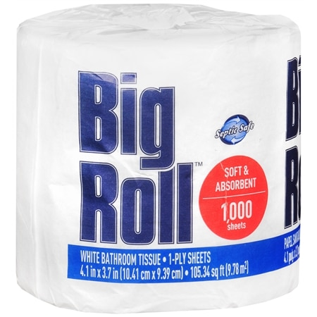 Big Roll Bathroom Tissue 1 Big Roll